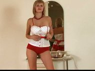 Blonde Teena Amazing big ...