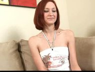 Redhead Nubile Kyra gives...