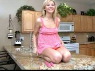 Nubile blonde teen Kalila...