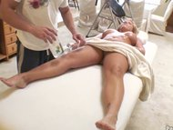 Busty Blonde Tit Massagep3