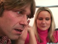 She watches her hubby fuc...
