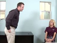 blonde teen getting fucke...