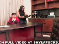 Shyla Stylez fucks record...