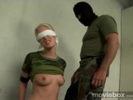 Slave doll gets punished ...