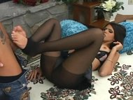 Shy Love pantyhose sex