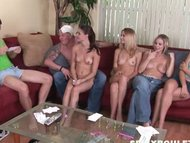 Young openminded couples meet to play sex games, swing  fuck view on tube8.com tube online.