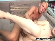 Dumping Big Cumload in Ga...