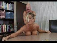 BigTit Blonde Milf fucks ...