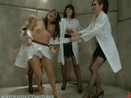 Jade Indica Brutally Violated by Three Fierce Fem Doms