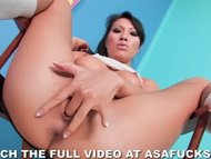 Asa Akira Masturbates Wea...