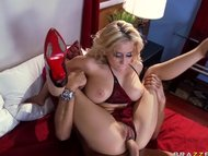 Big tit blond pornstar Ma...