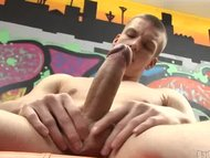 Amateur Stud Stroking