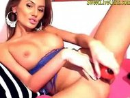hot romanian girl masturb...
