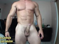 Bb With Huge Quads and Cock