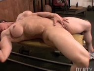 Alexis  DirtyMuscle  Big Clit Workout view on tube8.com tube online.