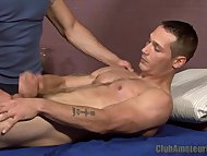 Straight Guy Blows Load