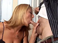 Big tit milf banged hard