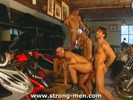 Muscle Orgy Sex