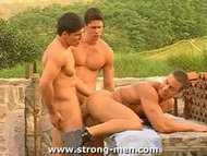 Three Bodybuilders Having...
