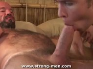 Bear Sucking Twink Cock