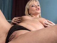 Mature older blonde anal ...