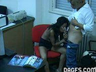 Latin office fuck caught ...