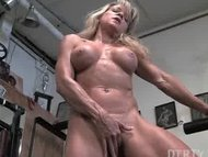 Mature blond hottie