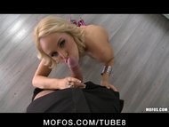 Hot Blonde euro pornstar ...