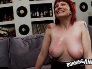 Emo redhead with big boob...