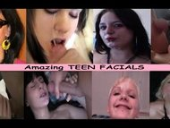 Homemade TEEN Facial Sluts