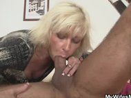 My blonde mother in law s...