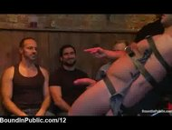Strapped blindfolded gay ...