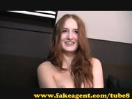 FakeAgent Red hed gives amazing handjob