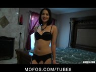 Hot brunette Latina teen ...