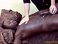 Black Stud Blows His Load