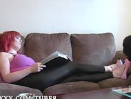 Crossdresser Slave Foot W...