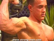 Handsome Muscle Stud