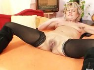 Hot domina lady performs ...