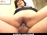 Junna Aikawa gets a nasty creampie