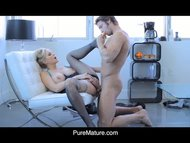 PureMature Julia Anns Sex...