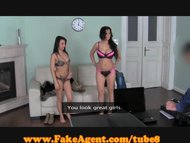 FakeAgent Double the fun view on tube8.com tube online.