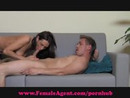 FemaleAgent. Moist mouth ...