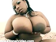 Busty Black BBW Superstar...