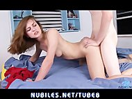 Petite teen Kasey Chase m...