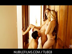Tube8 - Nubile Films  Threesom...