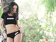 Stripping Melena Mason 1