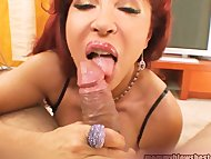 Hot Redhead Latina Mommy ...