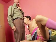 Sex lesson from an old pe...