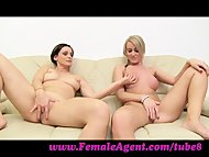 FemaleAgent. Let's wank t...