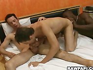 Gay Latino Threesome Hot ...